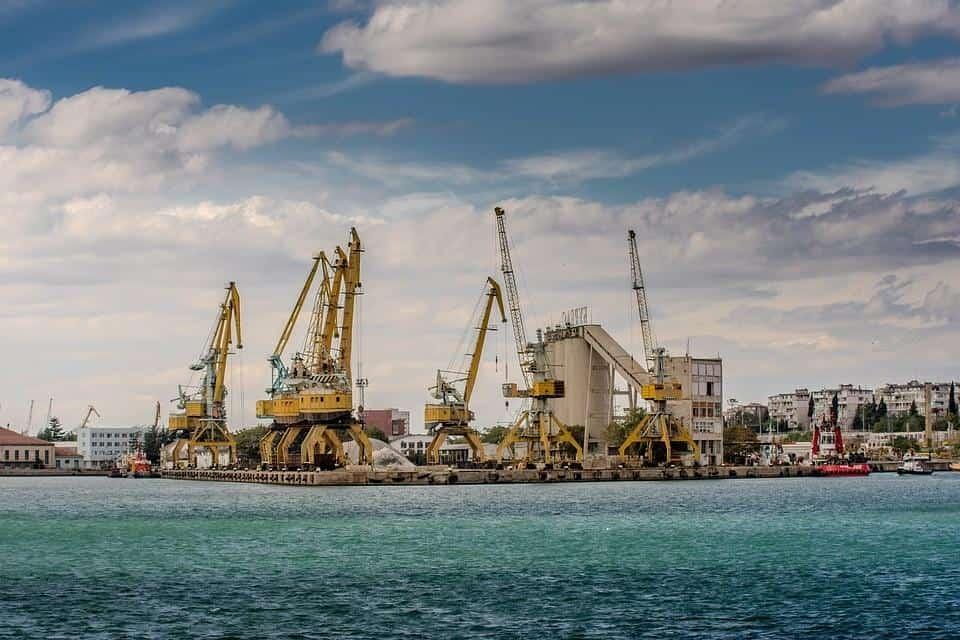 Port Burgas, Burgas, Harbor, Sea, Port, Outdoor