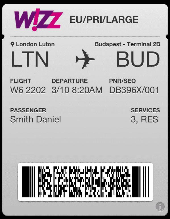 onlajn chekirane za poleti na vizejr wizz air - Онлайн чекиране за полети на Визейр (Wizz Air)