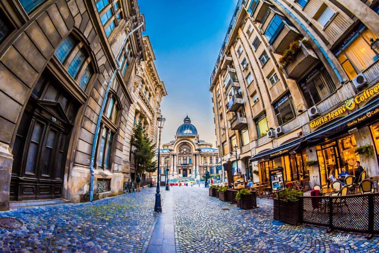 Евтини самолетни билети до Букурещ Румъния