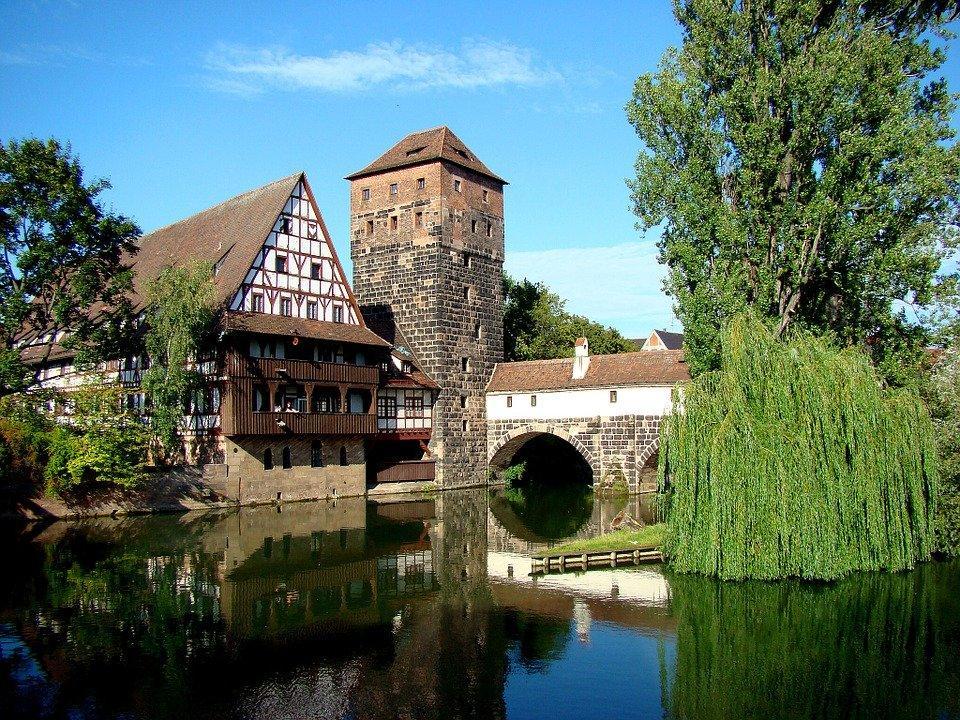 Nuremberg, Hangman'S Bridge, Historic Center