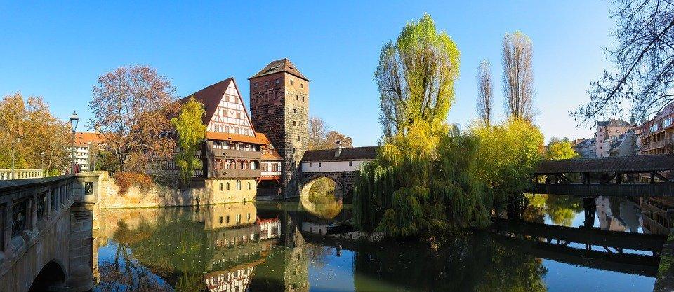 Landscape, Architecture, Building, Autumn