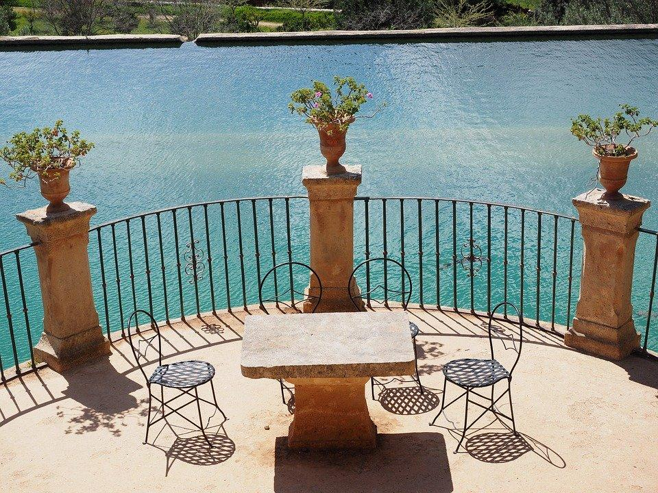 Seat, Table, Chair, Picnic, Balcony, Terrace, Outlook