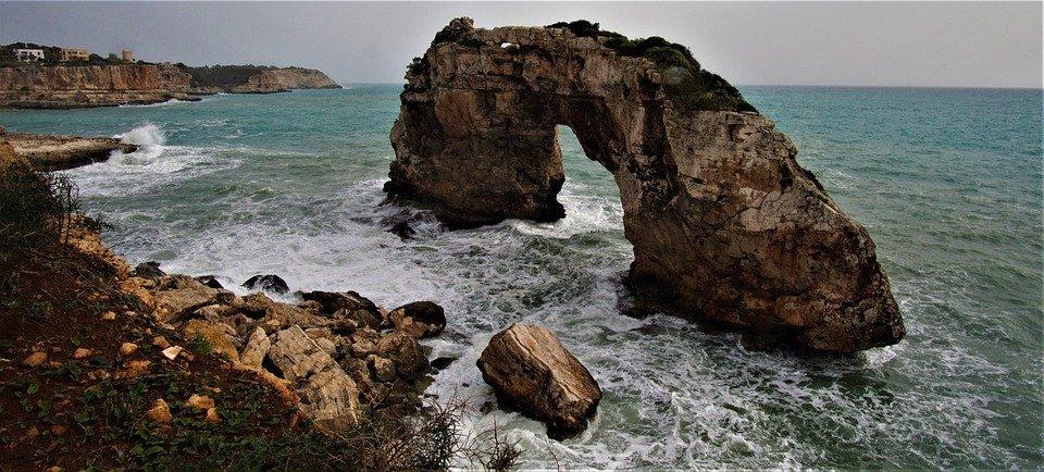 Felsentor, It Pontas, Mallorca, Island, Vacations